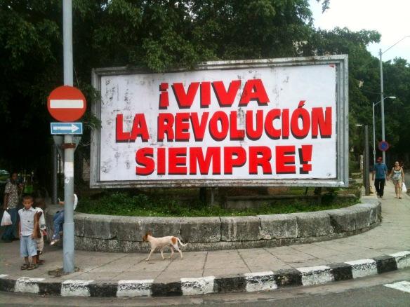 valla revolución